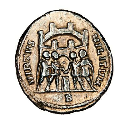 Argentius of Diocletian - Virtus Militum - Iconic coin of Tetrarchy period