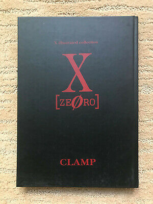 X [ZERO]: X Illustrated Collection By CLAMP Art Book GOOD CONDITION