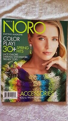 Noro Magazine 16 Spring Summer 2020 - 30+ Projects Blankets Scarves Garments