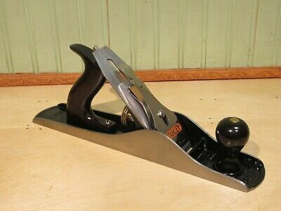 Stanley No. 5 Bailey Smooth Bottom Plane Woodworking Carpentry Tool Type 19