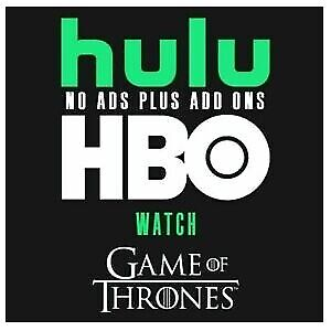 Hulu Premium + HBO + No Ads + | 2 Years  valide | fast Delivery