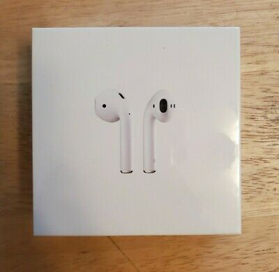 Apple AirPods Generation 2 with Charging Case MV7N2AM/A Factory Sealed NIB