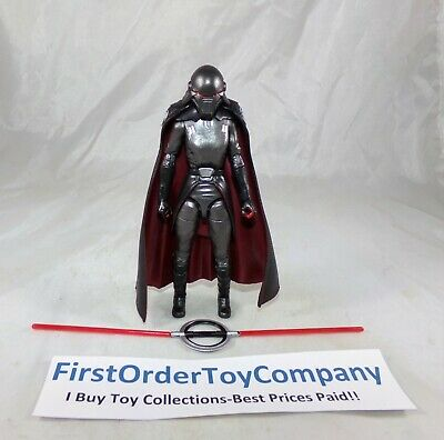 """Star Wars Black Series 6"""" Carbonized Second Sister Inquisitor Figure COMPLETE"""