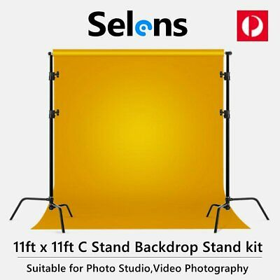 Photo Backdrop Kit Heavy Duty Background Support Stand System for Video Studio
