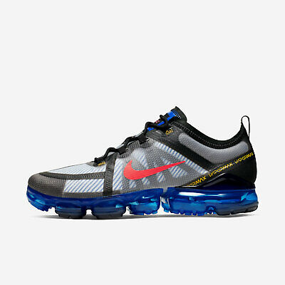 Nike Air Vapormax 2019 Men's Size 13 Hyper Blue Crimson Running Shoes AR6631 008