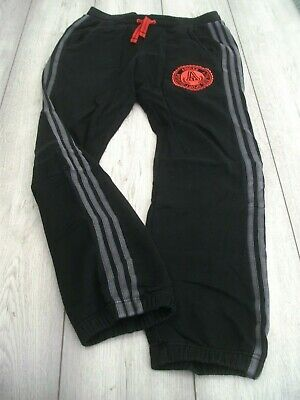 Adidas Sweat Pants Joggers Tracksuit Bottoms Size Age 13-14 Years Black