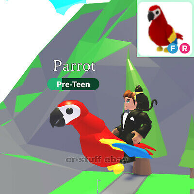 Adopt Me! ROBLOX - PARROT FLY AND RIDE