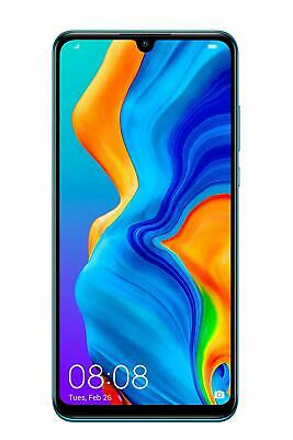 Huawei P30 Lite Sim Free 128GB Android Unlocked Smartphone - Peacock Blue
