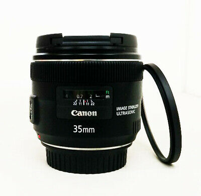 # Canon EF 35 mm f/2.0 IS UMS Wide Angle Lens + Filter S/N 0139