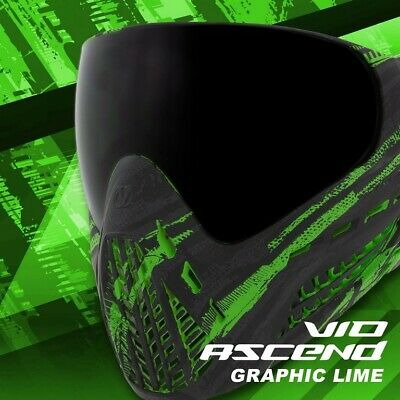 Paintball Maske Virtue VIO Ascend Thermal Graphic Lime
