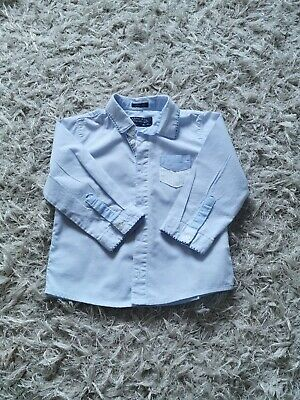 Mayoral Boys Light Blue Shirt Age 18 months (worn once)