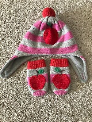 Baby Boden Hat And Gloves Set 0-6 Months
