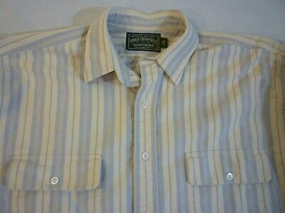 POLO COUNTRY RALPH LAUREN Vintage Work Shirt Mens L Great Condition