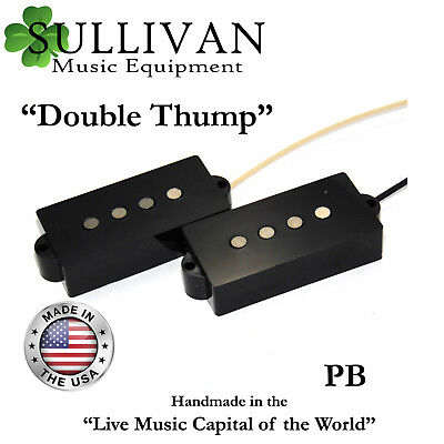 60's Style Precision Bass Pickups Fits Fender P bass Custom Shop Hand Wound SME