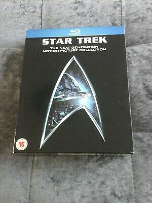 Star Trek - The Next Generation Movie Collection (Blu-ray, 2009, 5-Disc Set, Box