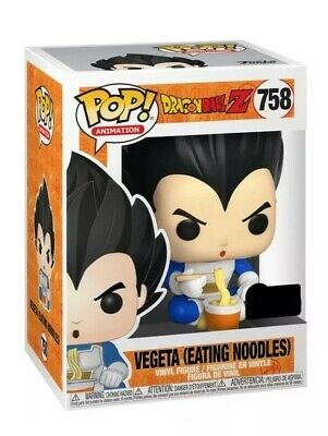 FUNKO POP! Vegeta Eating Noodles DBZ ECCC Shared Exclusive PREORDER