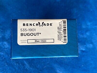 Benchmade Bugout 535-1901 Limited Edition 20CV G10 #581 out of 2000. Brand new