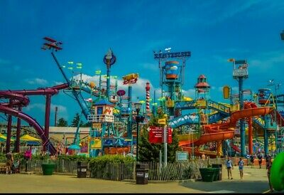4-  Hershey Park One Day Admission Tickets Expire 7/31/20