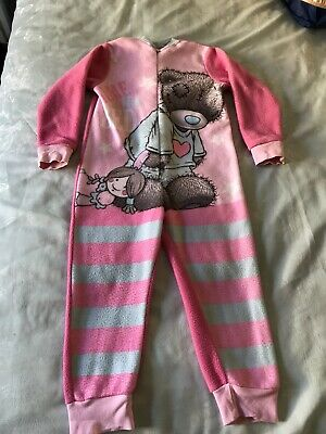 Girls Me To You Tatty Teddy All In One  Sleepsuit Age 3-4 Years