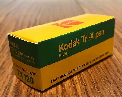 KODAK Tri-X Pan TX 120 Panchromatic Fast B&W Film Vintage - Exp 1983 ~ SEALED