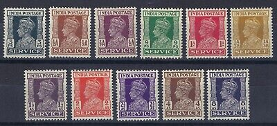 India 1939-43 Early Issue Wmk. Multi Stars Fine MLH SET OF STAMPS SEE THE SCANS.