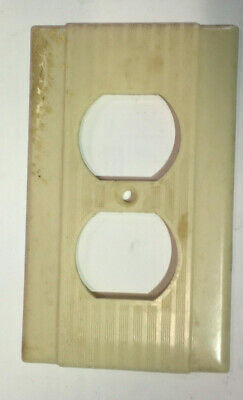 vintage outlet cover switch plate