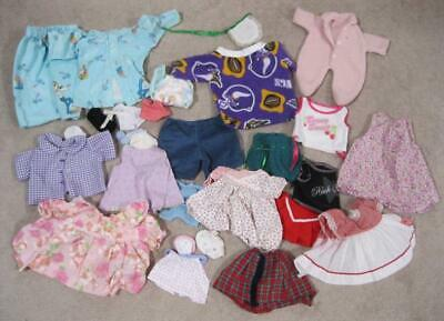 """HUGE LOT 28pc MISC Baby HANDMADE/FACTORY clothes fits 18-26"""" dolls Dress cpk?"""