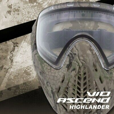 Paintball Máscara Virtue Vio Ascend Thermal Highlander