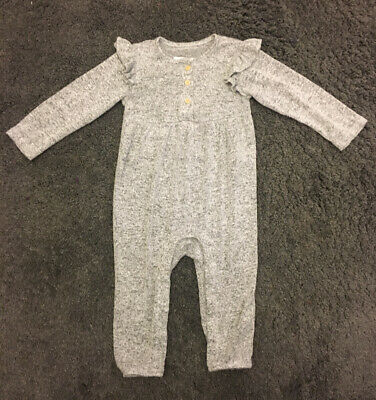 Baby Girls Super Soft All In One Romper 12-18 Months F&F