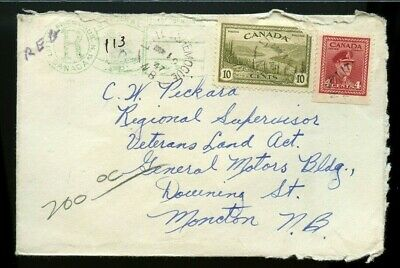 Little Shemogue NB 1947 Registered Keyhole, open 3 sides, Canada cover