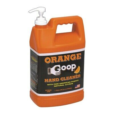 Goop 1 Gallon Citrus Hand Cleaner with Hand Pump