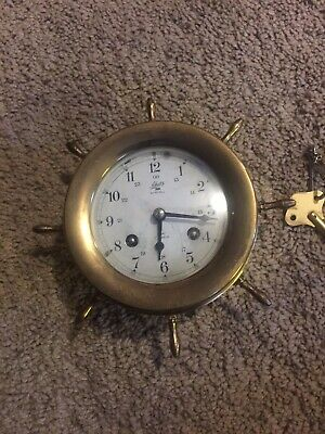 Replacement Chelsea Logo Clock Key for Ships Clock Movements #5