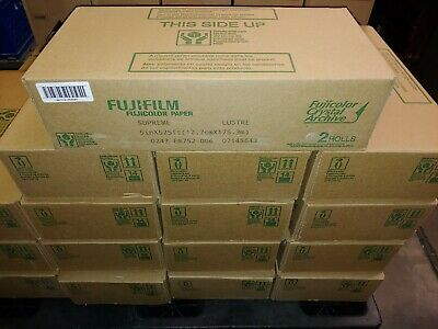 Fujifilm Fujicolor Supreme Lustre Crystal Archive 5inx575ft - 2 ROLLS -NEW STOCK