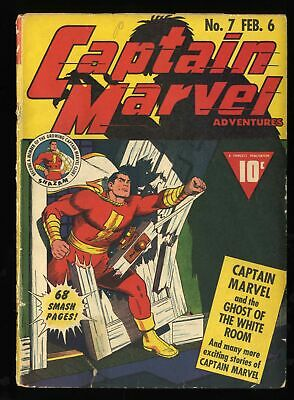 Captain Marvel Adventures #7 GD+ 2.5