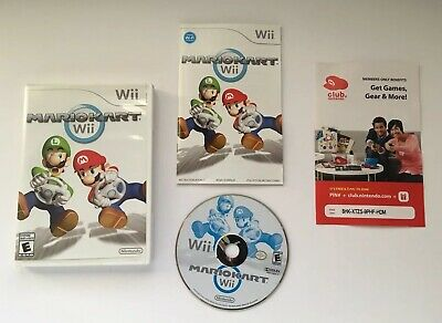 Wii Mario Kart (Nintendo Wii, 2008) - Tested and Working