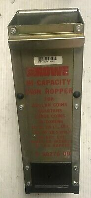 Rowe Change quarters & large tokens Hi Capacity hopper BC 35 or BC 3500 working