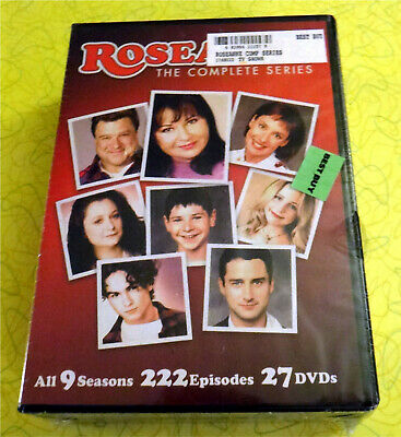 Roseanne: The Complete Series (DVD, 2013, 27-Disc Set)  New Sealed TV Show