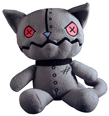 Emily the Strange Fiddy Seven Kitty Plush from L'il Strangers Collection - NEW