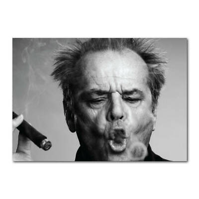 7214.Portrait of queen smoking cigar.drink in front.POSTER.art wall decor