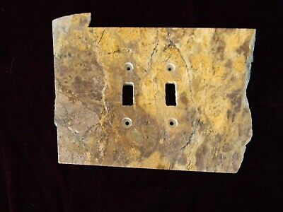 Light switch plates, electrical cover, Polished Rock