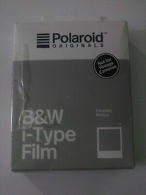 Polaroid - B&W i-Type Photo Film - White frame 8 Pack