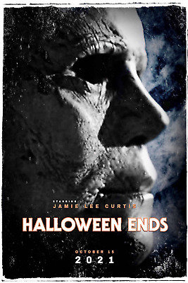 Halloween Ends (2021) 8.5 x 11 Glossy Mini Poster Picture Michael Myers Reboot