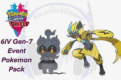 Pokemon Sword And Shield 6IV Legendary Marshadow And Zeraora Event Trade Guide