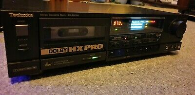 Technics RS-B608R Hi-Fi HX PRO Dolby Cassette Tape Deck High End Audiophile