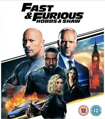 Fast And Furious Hobbs And Shaw Dvd (Brand New & Sealed)