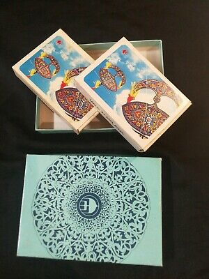 MALAYSIAN AIRLINE SYSTEM MAS PLAYING CARDS SUN WIND SEA ART BRAND NEW SEALED