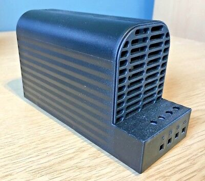 STEGO 06020.0-00 (CS 060) 150W 120-240V IP20 Touch Safe PTC Semiconductor Heater