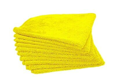 5 Kirkland Signature Ultra Plush Microfibre Cloths Towels Cleaning Car Vehicle
