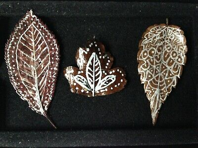 Leaf Art: Real Leaves Hand-Crafted: Unique, Beautiful, Original Art - Must See !