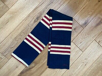Boys JOULES Junior Scarf in Rugby Stripe One Size